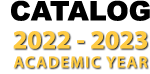 Catalog 2019-2020 academic year