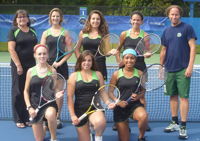 MCCC Women's Tennis Team