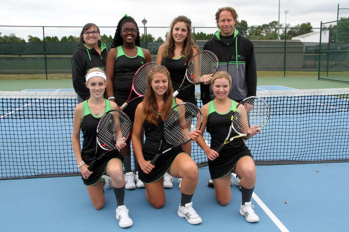 MCCC Women's Tennis Team