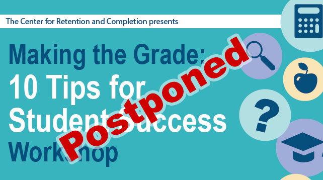 Making the Grade: 10 Tips for Student Success Workshop
