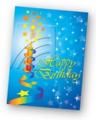 Birthday tribute card