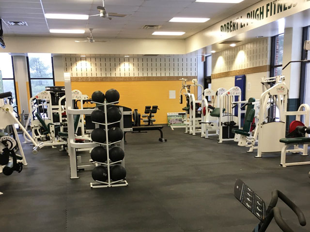 Mercer county community college recreation & fitness