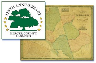 Mapping Mercer Celebrating the County's 175th Anniversary