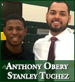 Anthony Obery and Stanley Tuchez