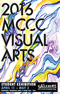 MCCC Visual Arts Student Exhibition 2016