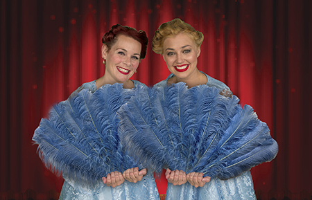 there were never such devoted sisters as betty jennifer fisher left and judy haynes haley schmalbach photo by john maurer - White Christmas Sisters