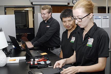 Domain Tech Academy Students