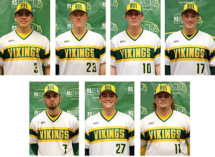 super popular 085d5 755ac Seven Viking Baseball Players Named to All-Region Team