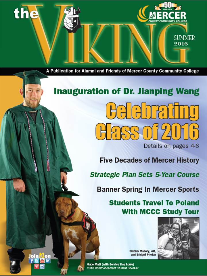 Summer 2016 edition of The Viking
