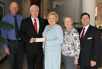 Donation by NJ Association of Public Accountants