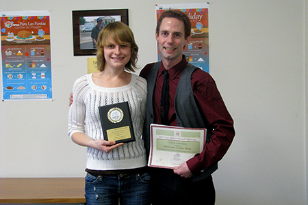 Amanda Kleinmann receives Innovator Award