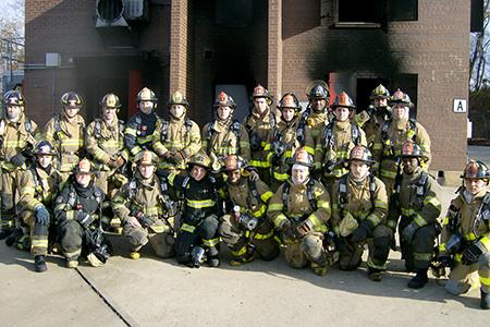 Fire Academy Grads
