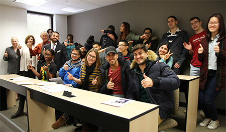 Global Business Club Students
