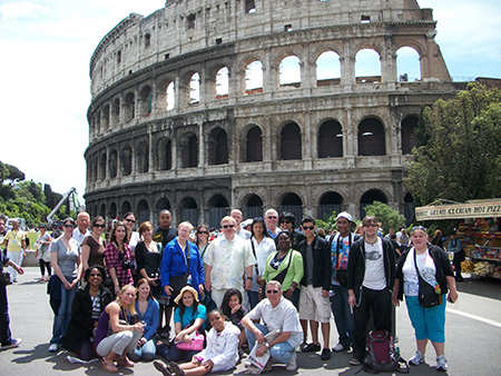 Study Abroad Tour to Rome, 2009