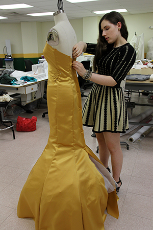 Driven By Passion For Fashion Alumna Verity Gordon Prepares For Nyc Runway Show