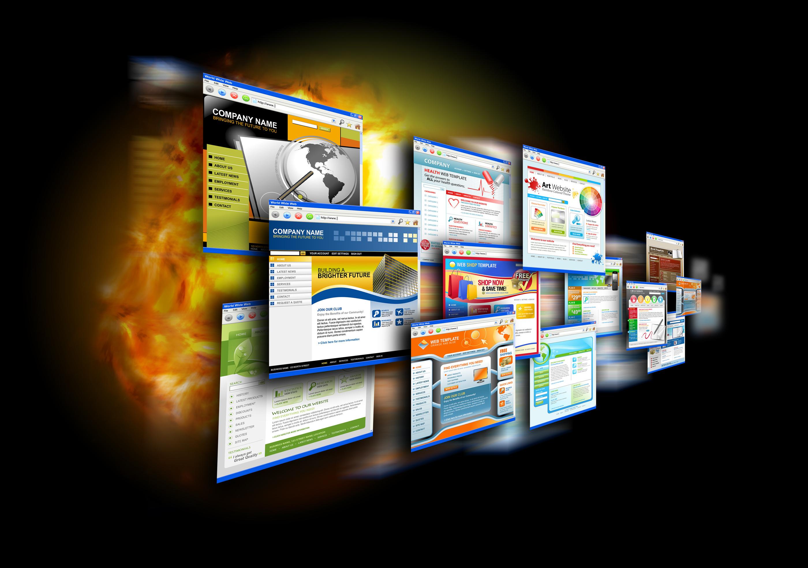 Как сделать веб-сайт фото